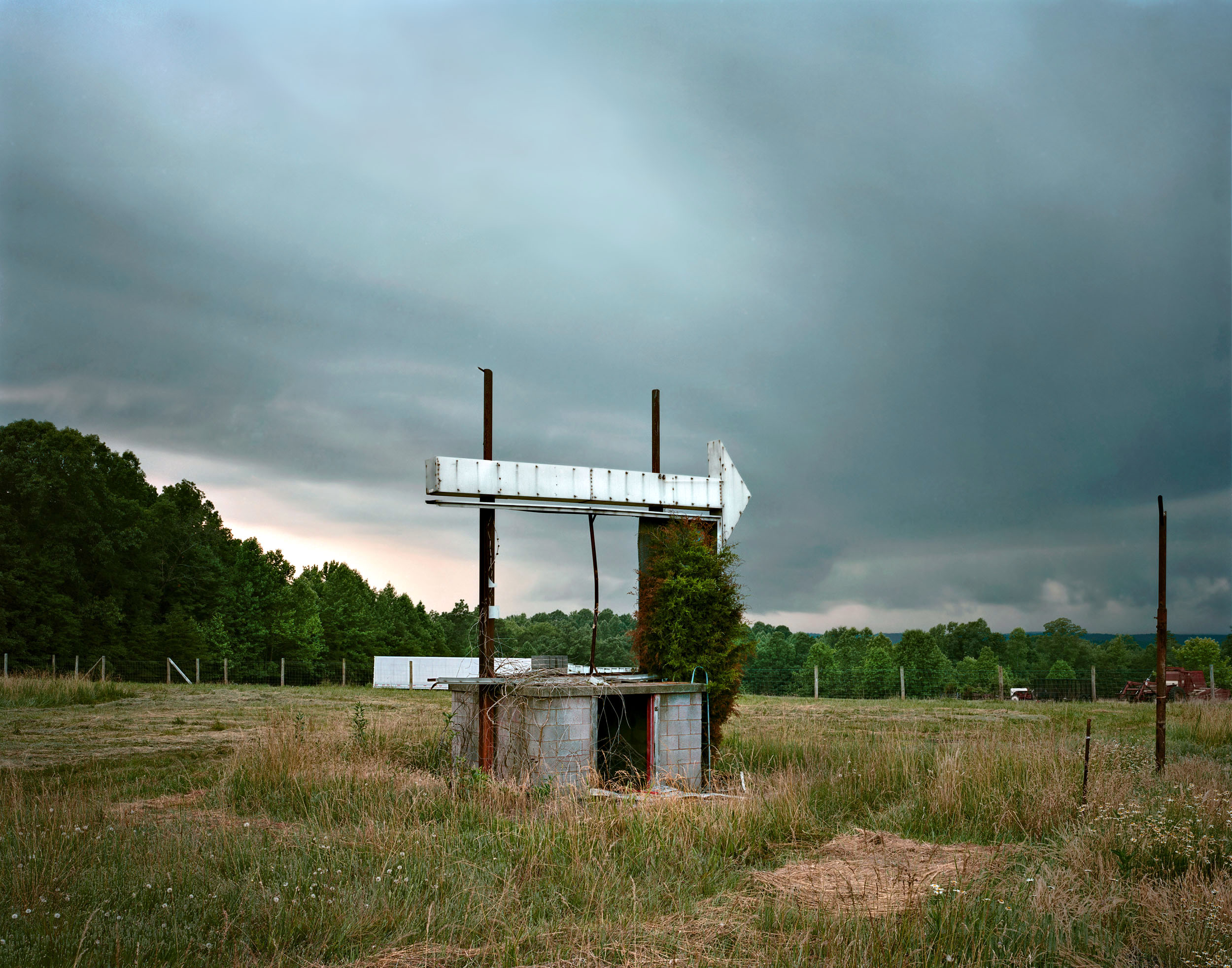 Drive-In, near Eden, Alabama