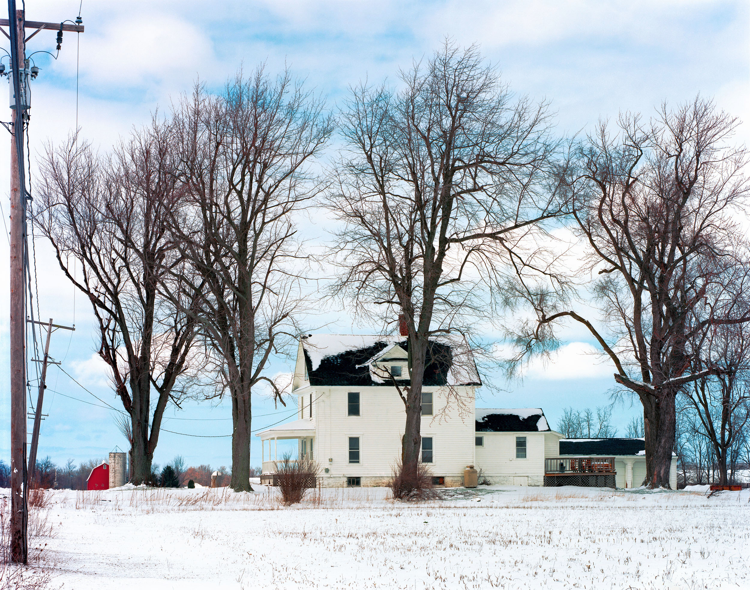 Farmhouse Near Medina, New York