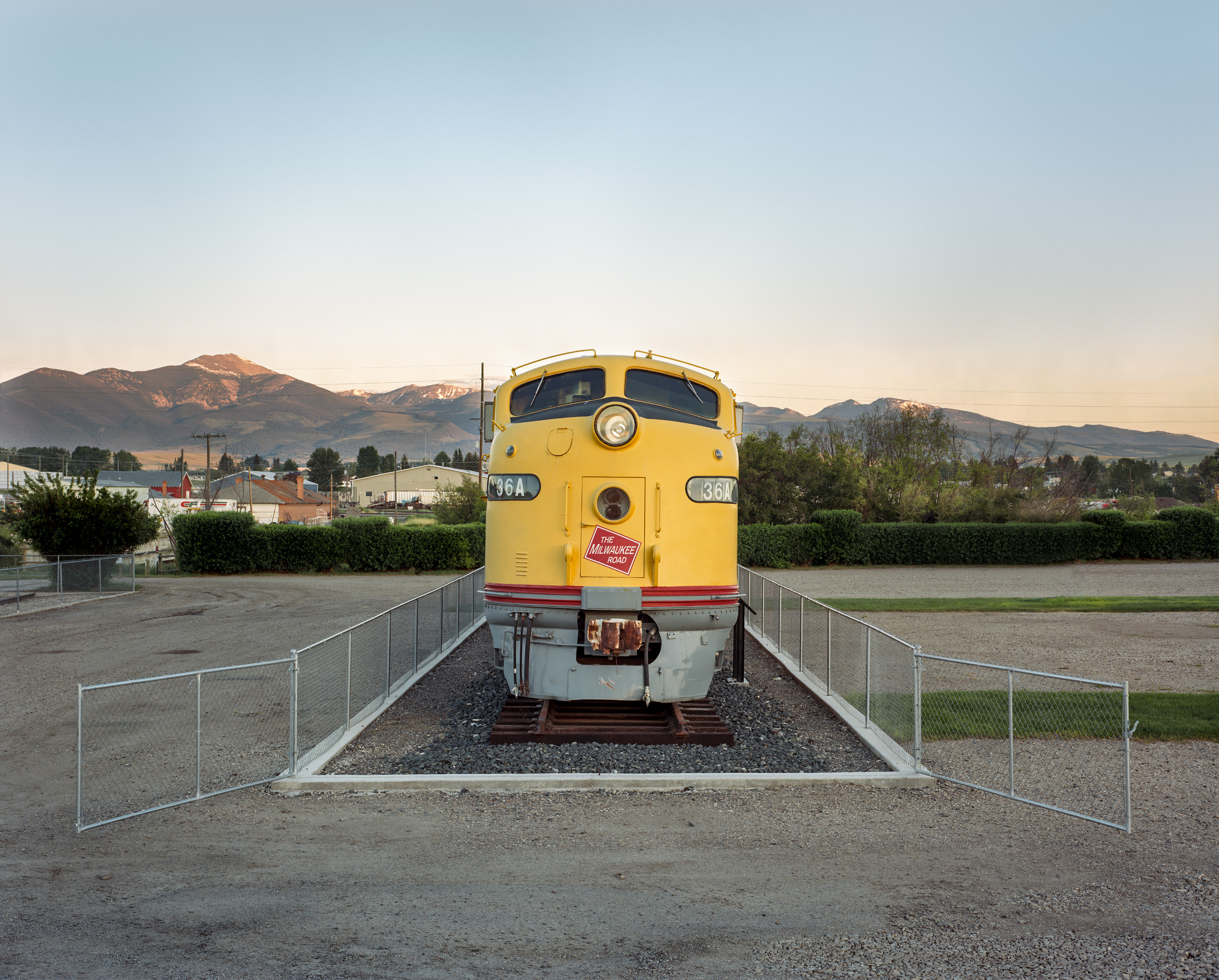Milwaukee Road 36A, Deer Lodge, Montana