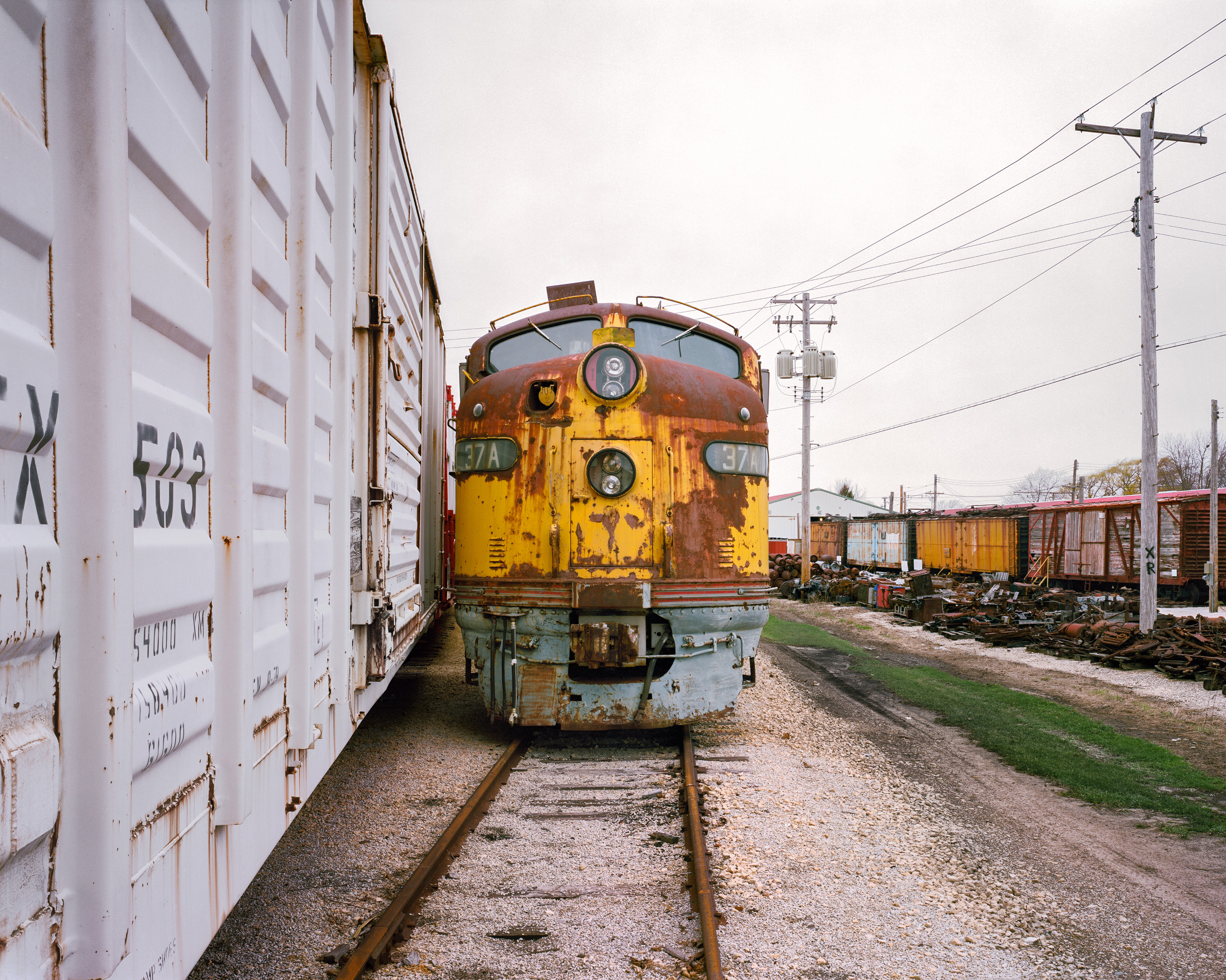 Milwaukee Road 37A, Illinois Railway Museum