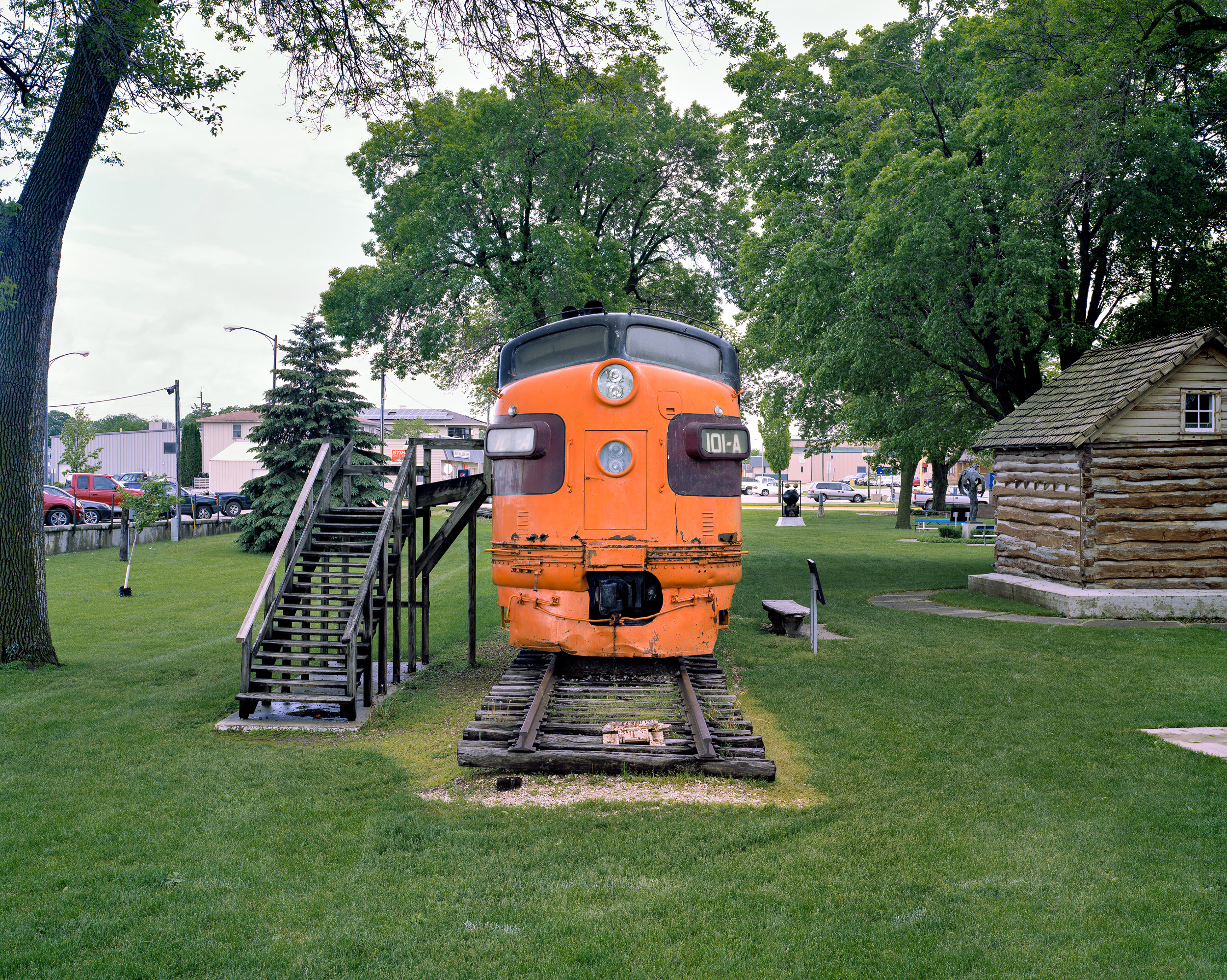 Milwaukee Road #101-A, Cresco, Iowa