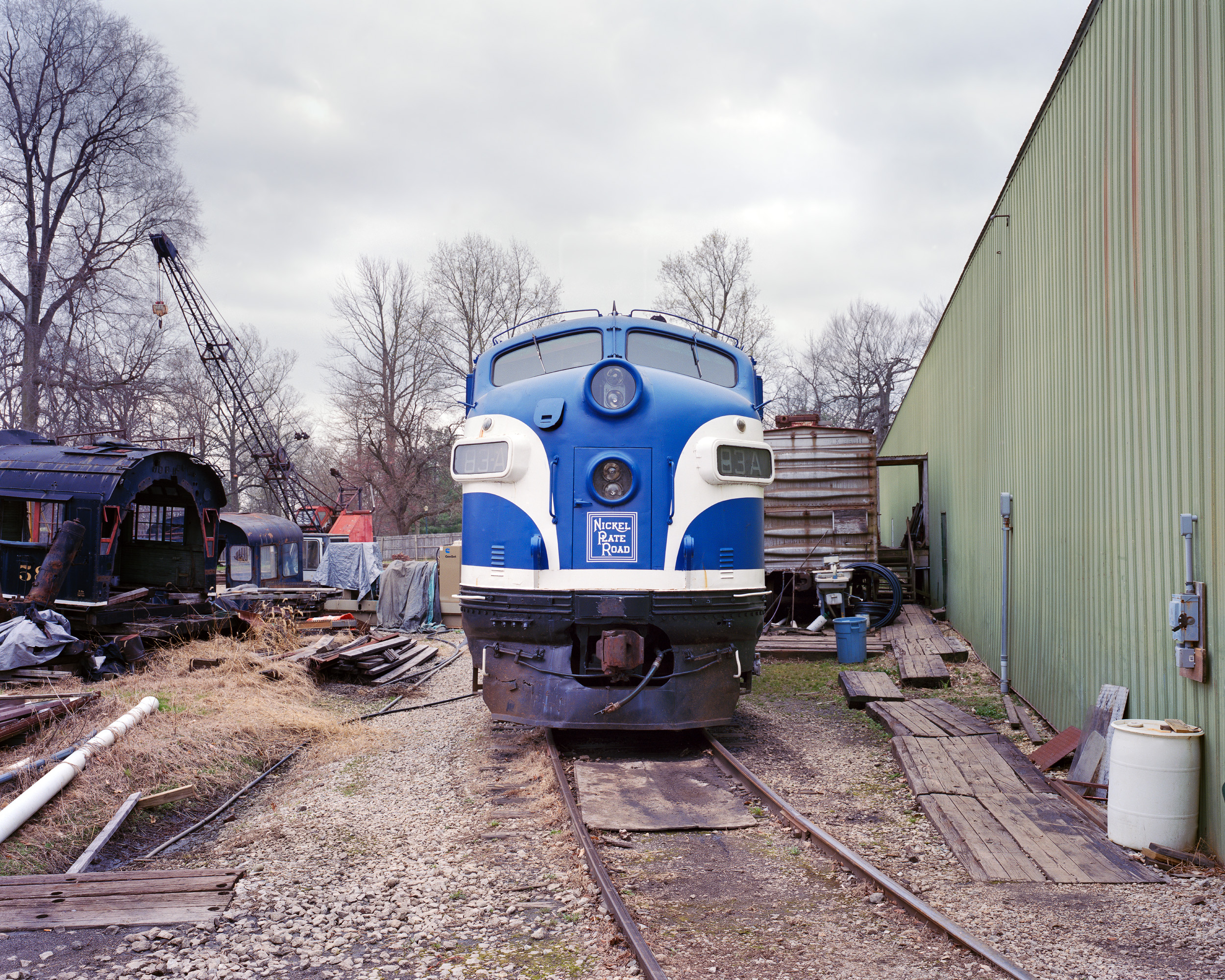 Nickel Plate Road #83 A, Railway Museum of Indiana