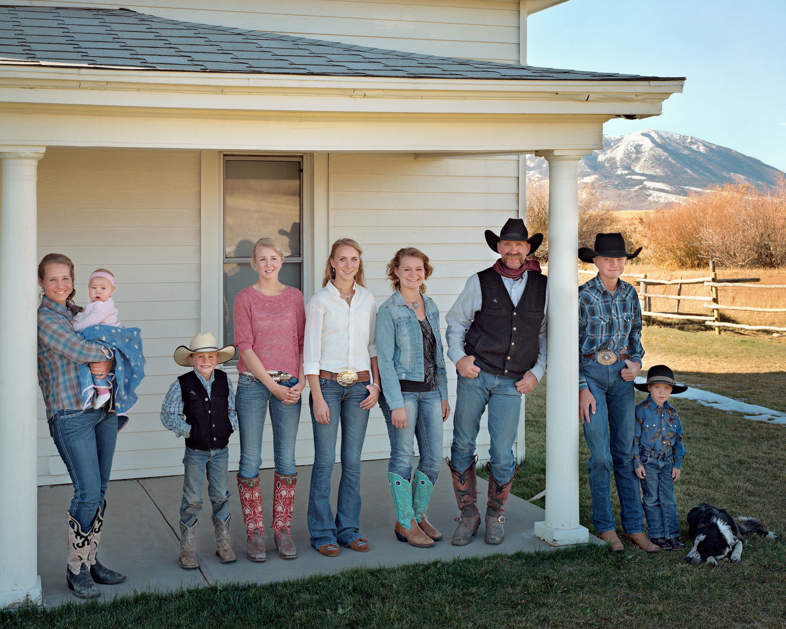 The Cooke Family, Carbon County, Wyoming