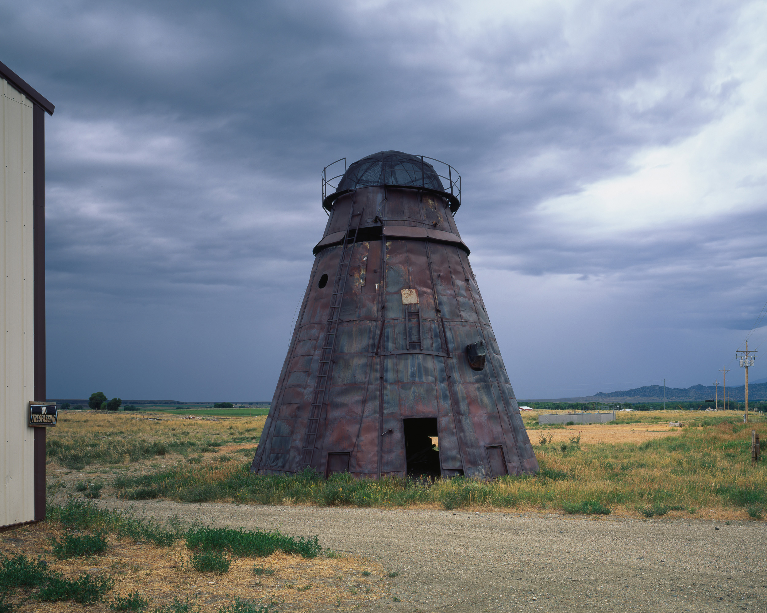 Conical Burner, Grand Encampment, Wyoming