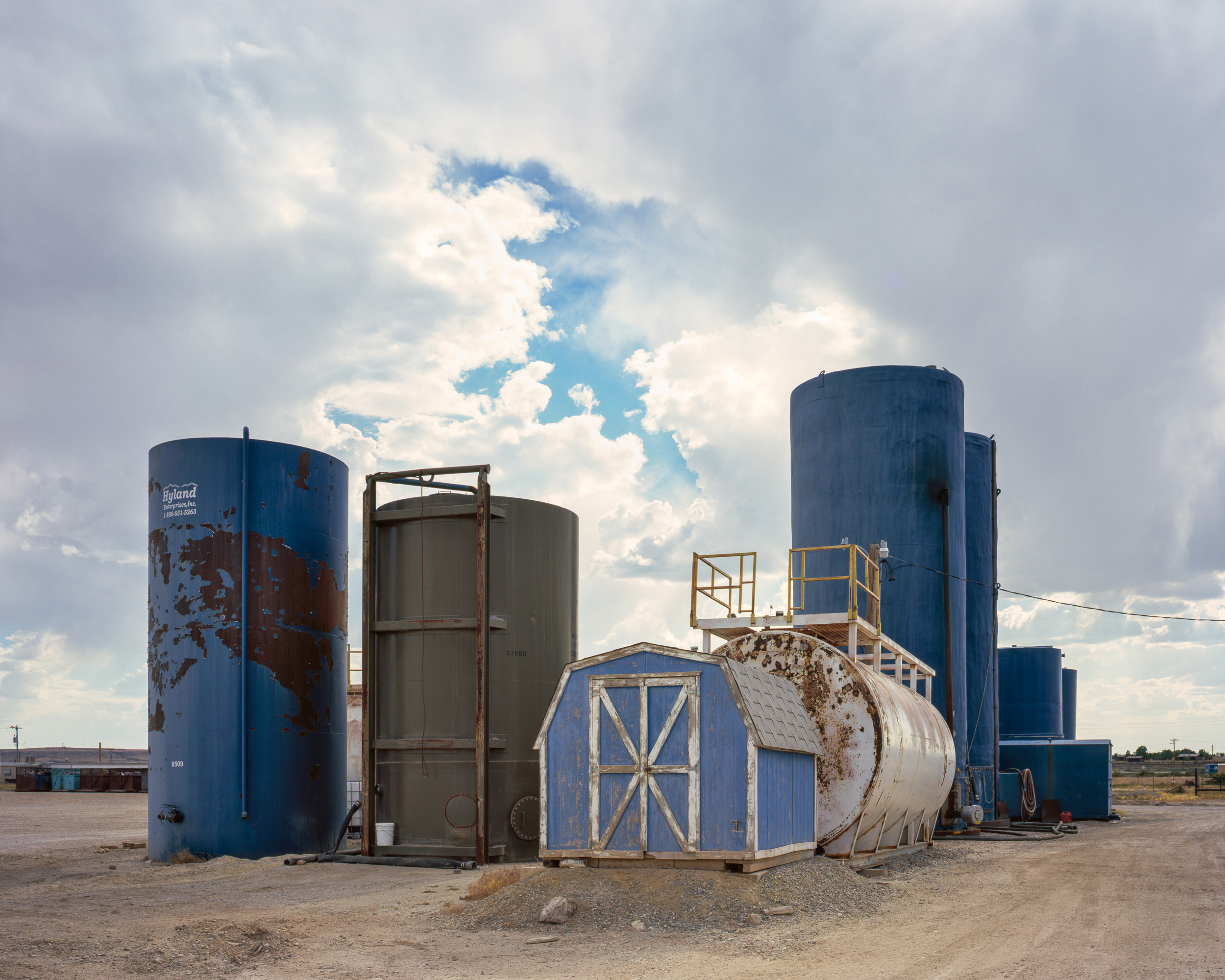 Water Tanks, Wamsutter, Wyoming