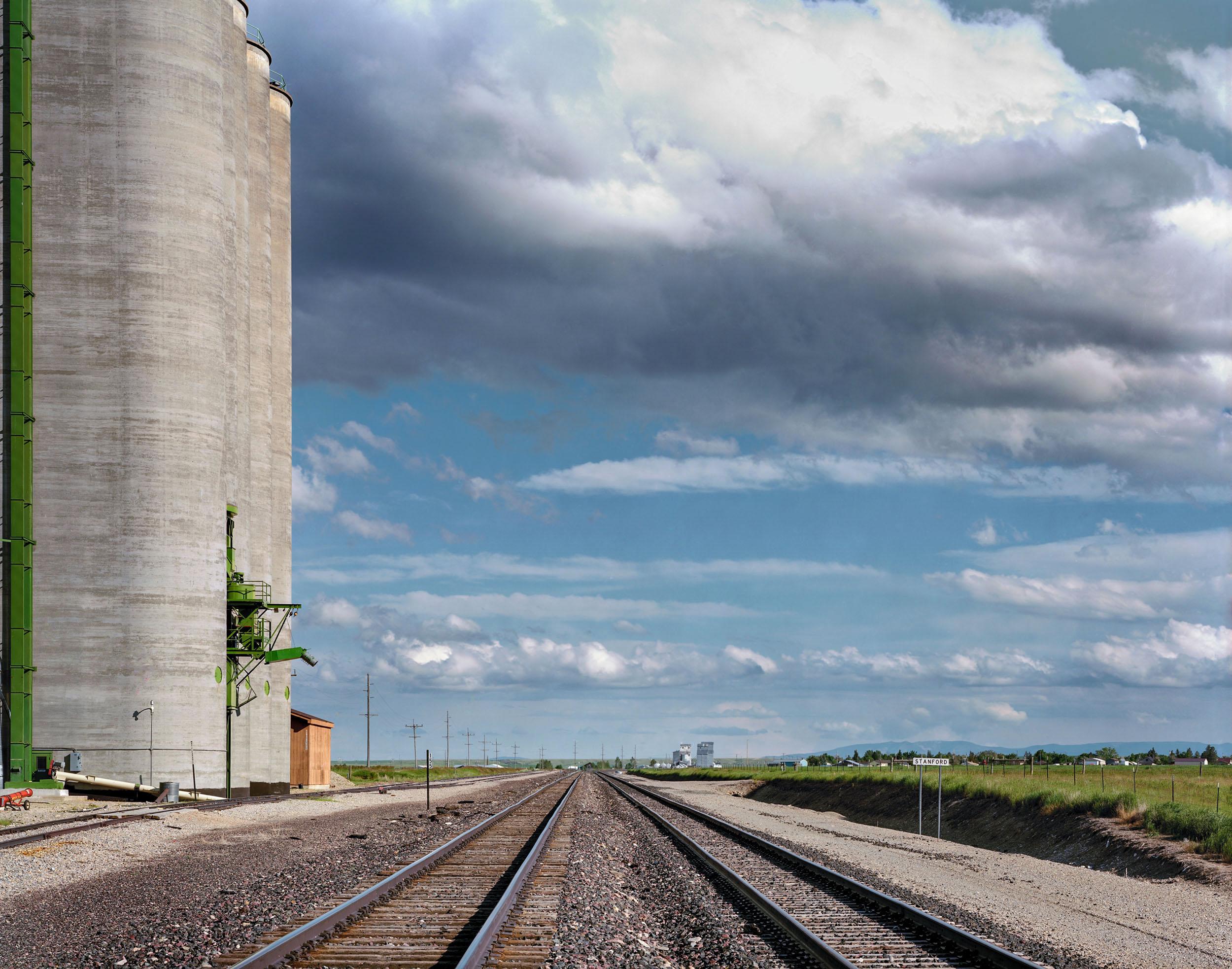Grain Elevators, Stanford, Montana