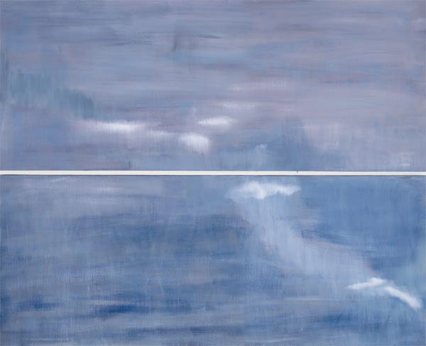 Archipelago: Stora Nassa oil on linen 48 x 60in diptych AP-11 photo: M. Lee Fatherree [not available]