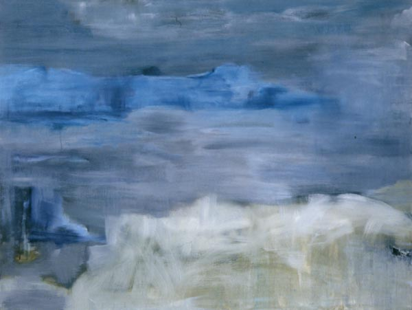 Letters from Iceland : July 21 oil on linen 64 x 48in IS-14 photo: M. Lee Fatherree [not available]