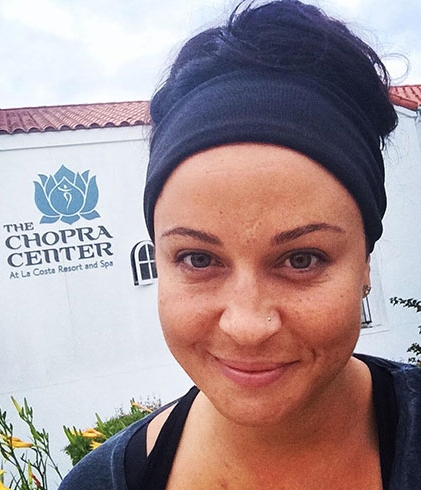 Photo of Lacie Wournell at the Chopra Center