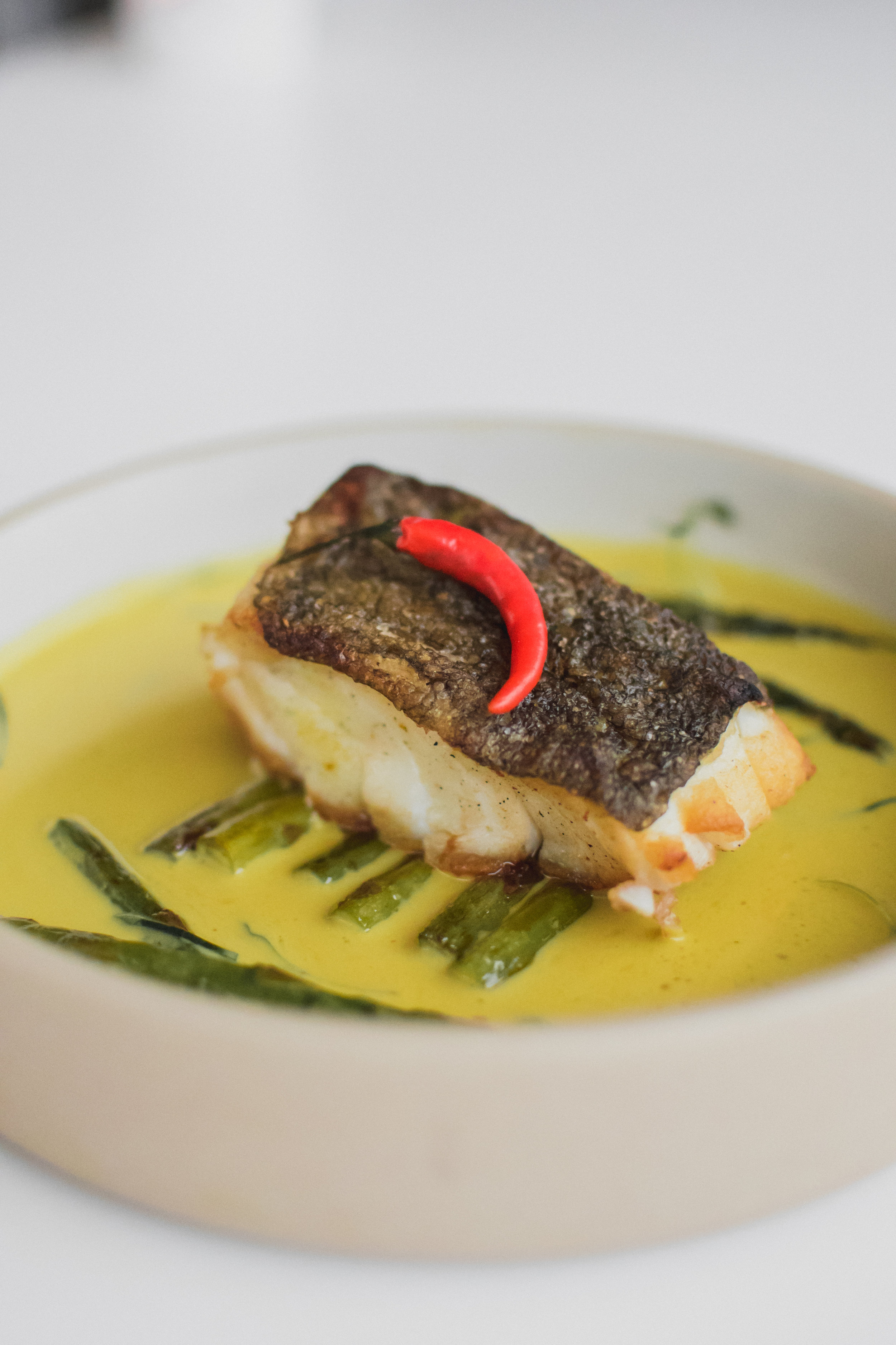 Seared Cod with Triple Root Sauce