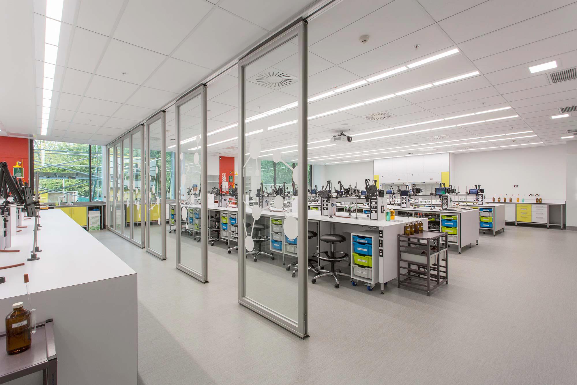 Mellor Laboratory Interior
