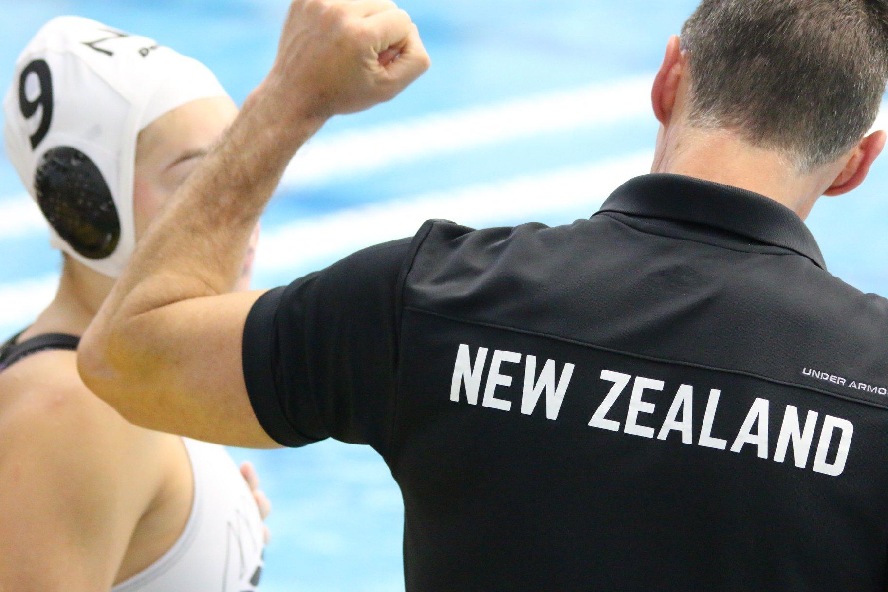Waitakere Water Polo Head Coach Davor Carevic