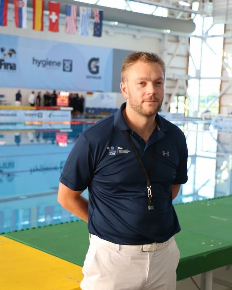 Michael Brookes Waitakere Water Polo Club Referee
