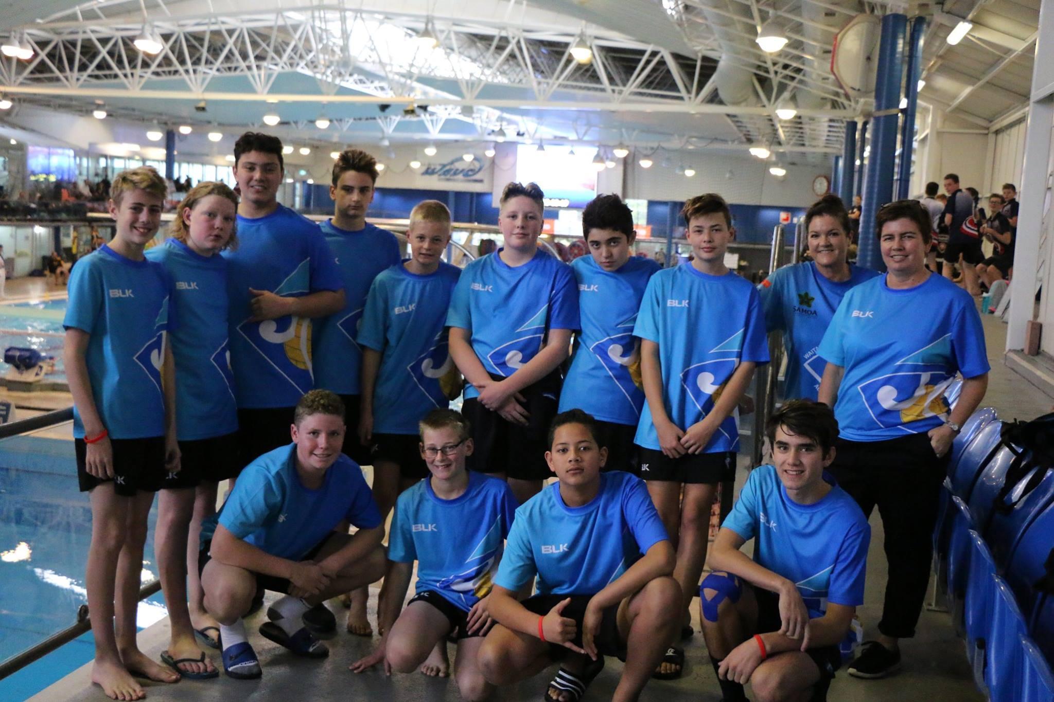 Waitakere Water Polo Club U14 Boys