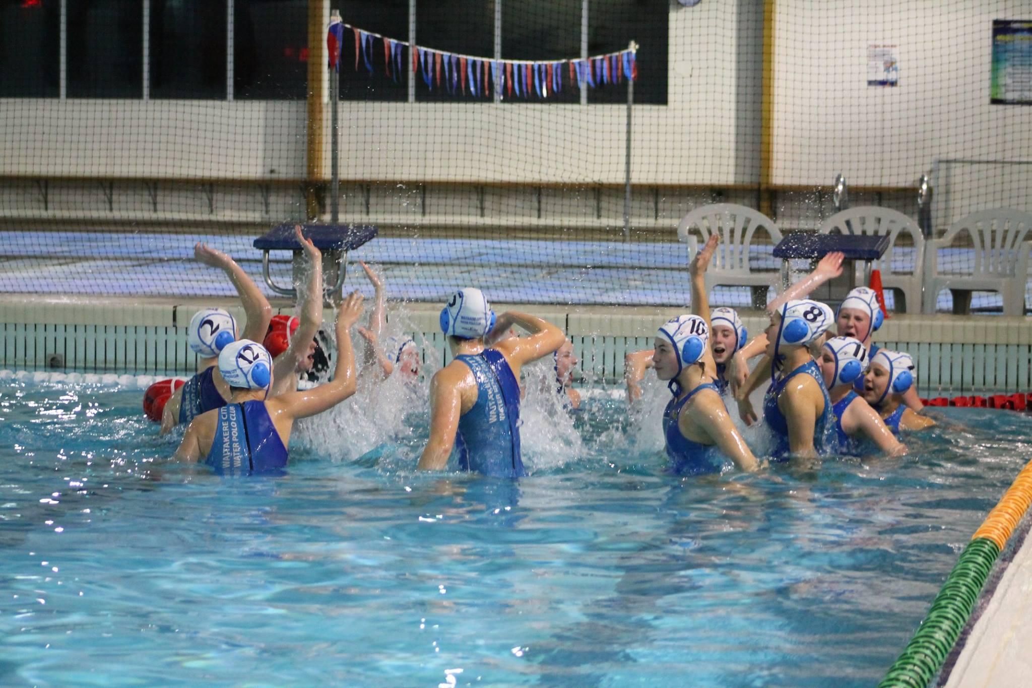 Waitakere Water Polo Club U14 Girls