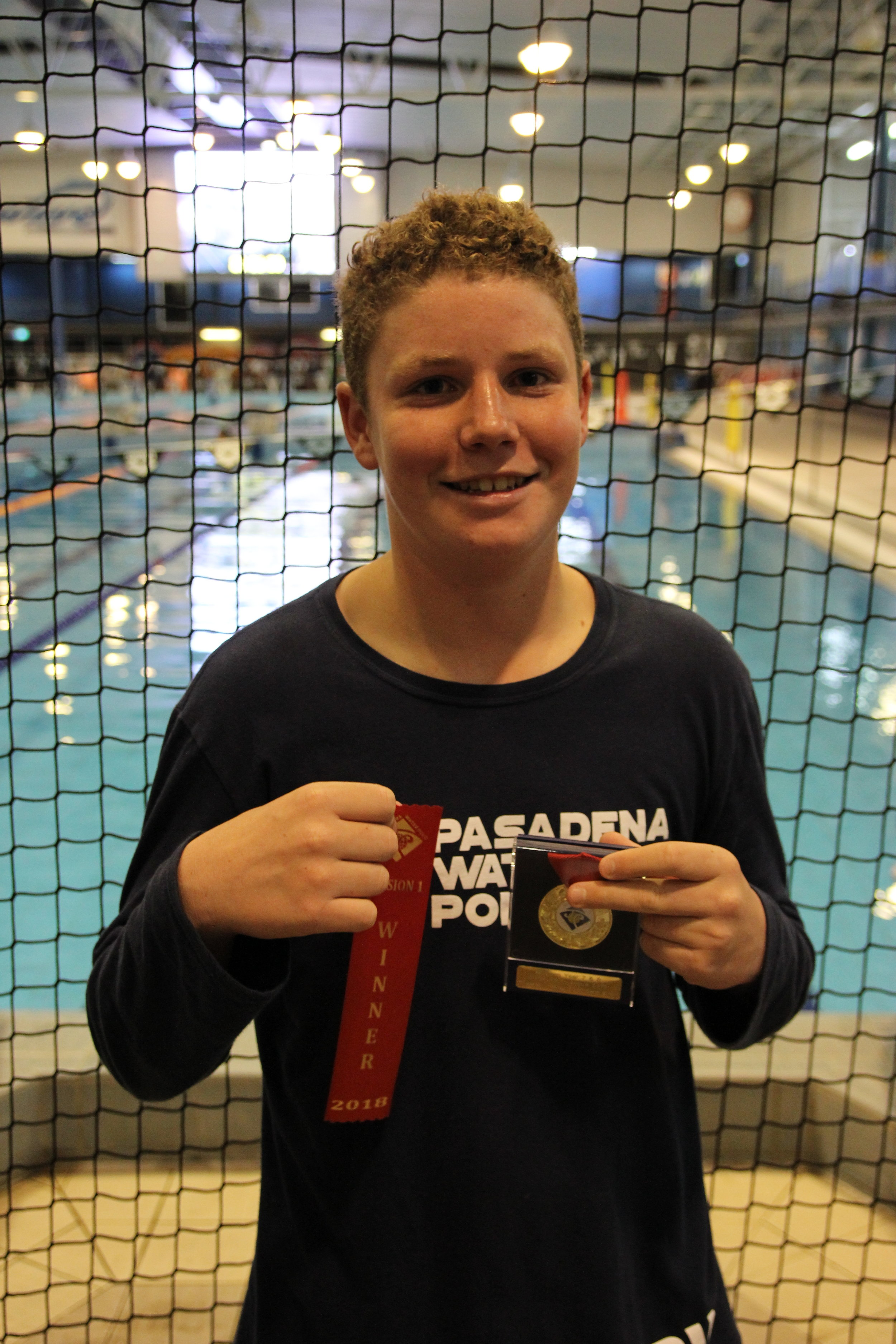 Most Promising Boy – Ben Watkinson from Pasadena Mana