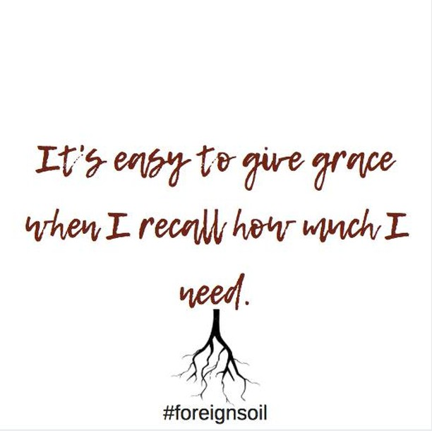 His grace is enough. {2 Cor. 12:9} .⠀⠀⠀⠀⠀⠀⠀⠀⠀ .⠀⠀⠀⠀⠀⠀⠀⠀⠀ .⠀⠀⠀⠀⠀⠀⠀⠀⠀ .⠀⠀⠀⠀⠀⠀⠀⠀⠀ .⠀⠀⠀⠀⠀⠀⠀⠀⠀ #ForeignSoil #blendedsoil #blendedfamily #blendedfamilies #blended #inspiration #inspirationalquotes #quotes #hope #kentucky #brand #influencer  #dailymotivation  #parenting #coparenting #faithfilledcaptions #gritandvirtue #selfcare #lifecoach #lifecoachforwomen #stepparent #stepkids #stepmom #stepdad #stepdaddy #stepdaughter #stepson #parentingmagazine  #divorced  #remarriage
