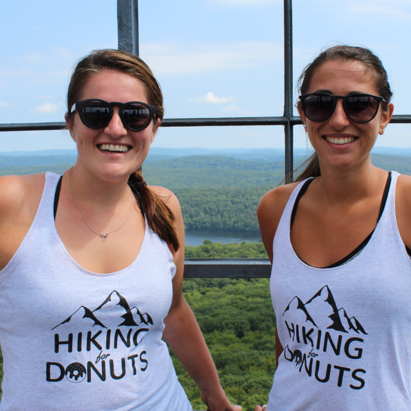 Nichole Hiking for Donuts in New York