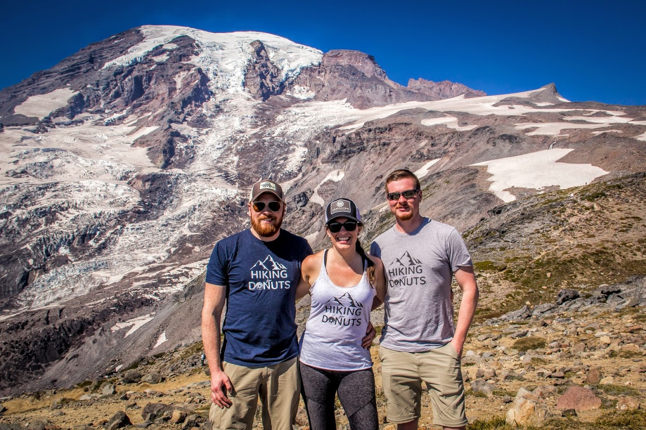Hiking for Donuts in Mt. Rainier National Park