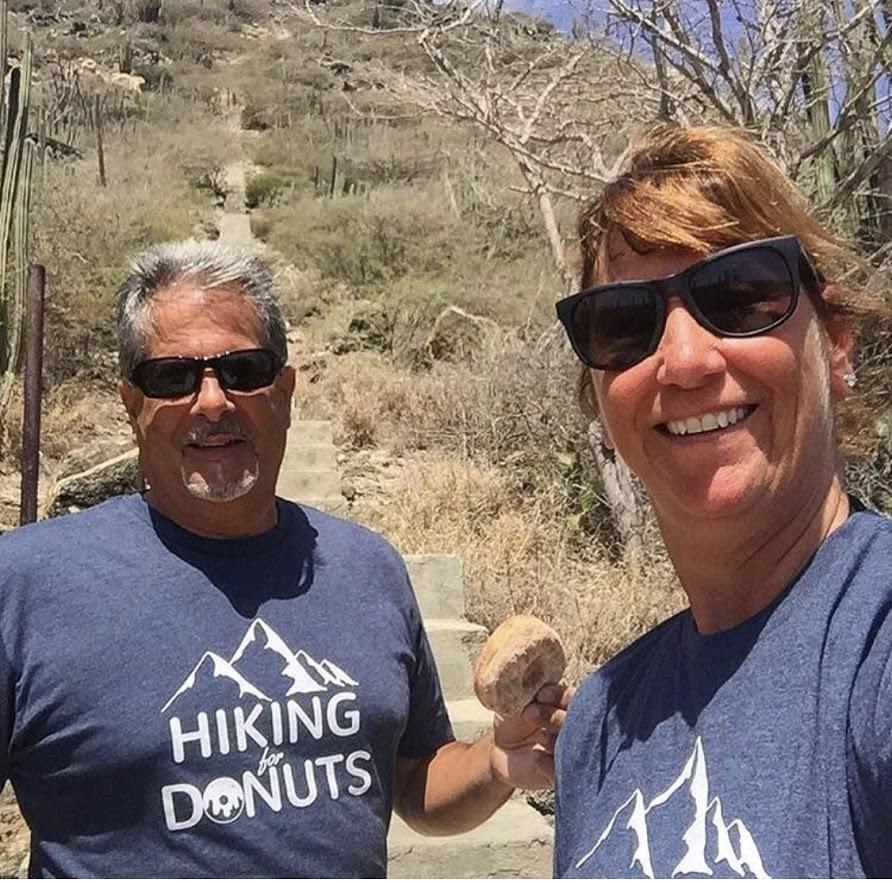 Hiking for Donuts in Aruba