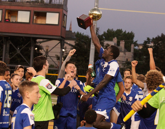Image courtesy of  Erie Commodores FC .