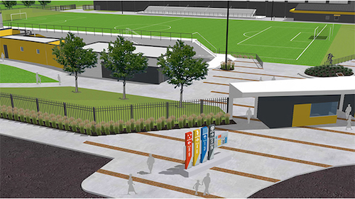 Stryker Soccer Stadium to reopen this season. Image courtesy of  FC Wichita .