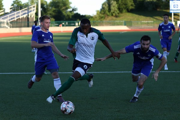 Rashawn Dally transitioned to MLS (FC Cincinnati) after one season with Hartford. Image courtesy of  NPSL .