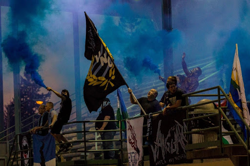 The VNC are The Victory's true-blue Supporter's Group (Photo Courtesy Vancouver Victory)