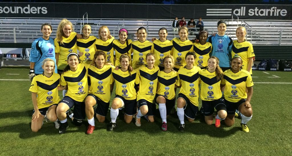 OSA Seattle FC is ahead of the curve and fields a Women's Side in the WPSL