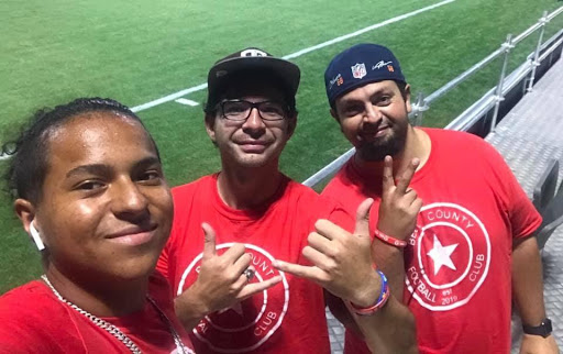 Bell County FC are friend and supporters of local soccer themselves – they attend Austin Bold matches together.