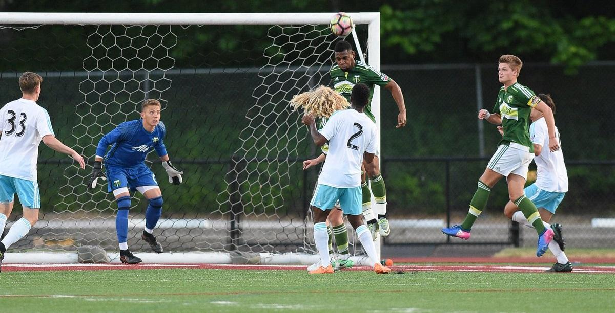 Jordan Farr, currently playing for Indy Eleven, helped the 2017 Timbers U23s win their division and qualify for the 2018 USOC first round.