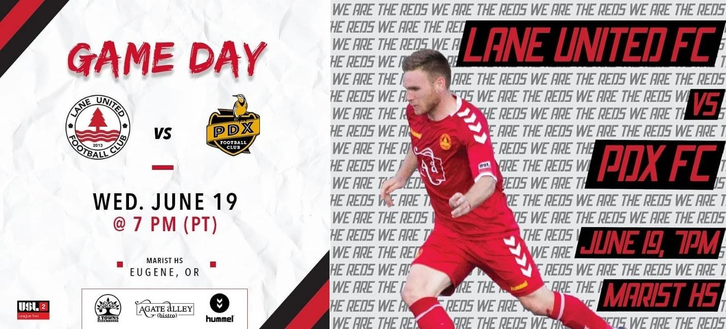 Lane United manage to sneak in friendlies with clubs from other leagues during their packed USL League-2 fixtures list.