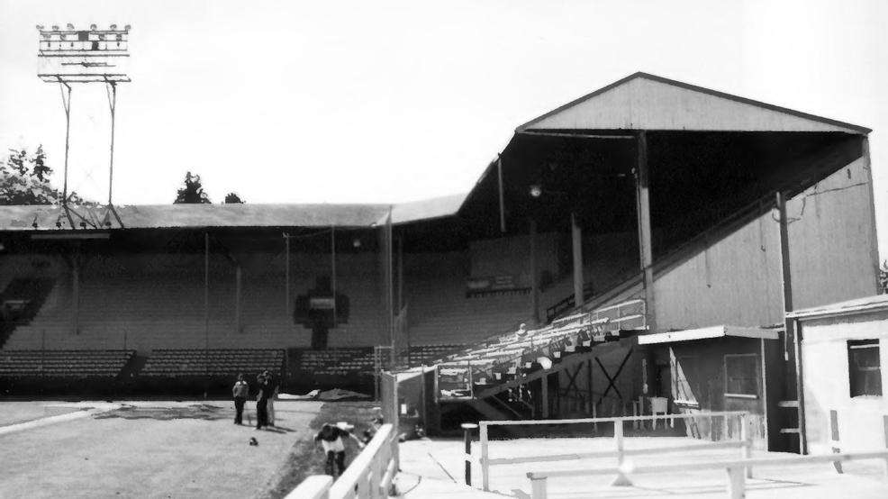 Eugene's Civic Stadium, built in 1938, was home to Lane United after they led efforts to restore it in 2013—it sadly burned down just two years later.