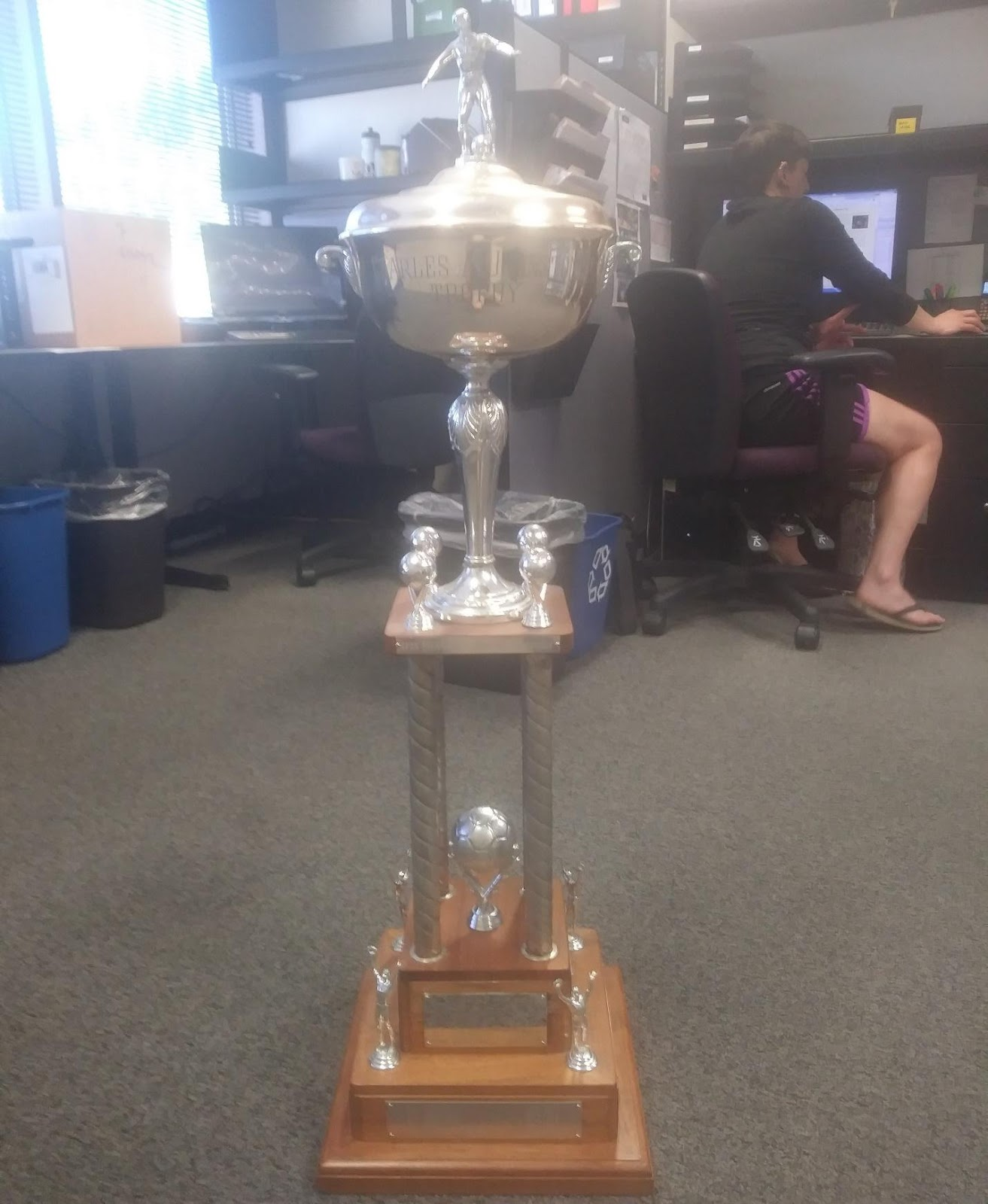 The Johnston Cup, a precursor to the Oregon Open Cup; maintained by Oregon SportsBeat.