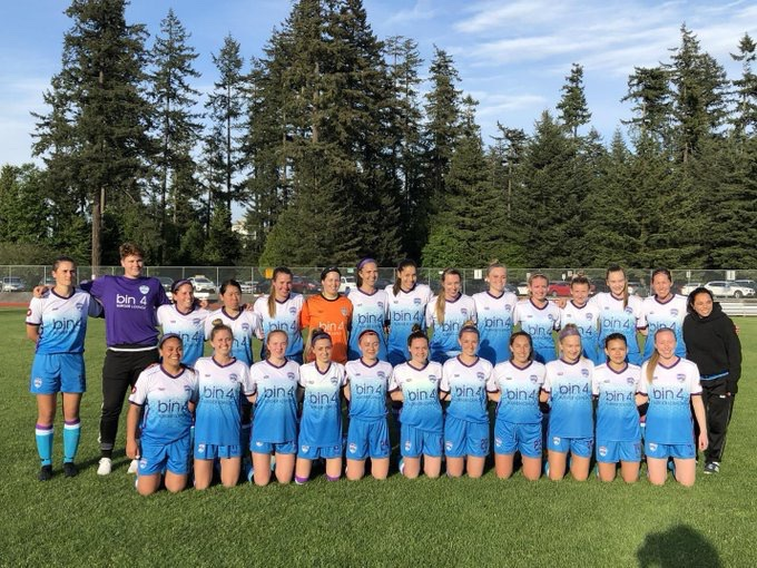 Vancouver Island FC, a Canadian pro-am women's side, play their soccer in the WPSL.