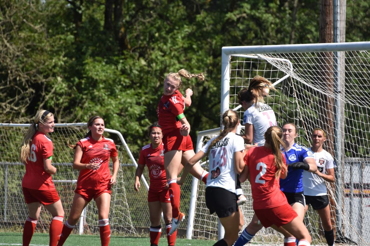 CFC Atletica take on NWPL competition on their way to the 2019 league championship match (Photo: Jeremy McDonald)