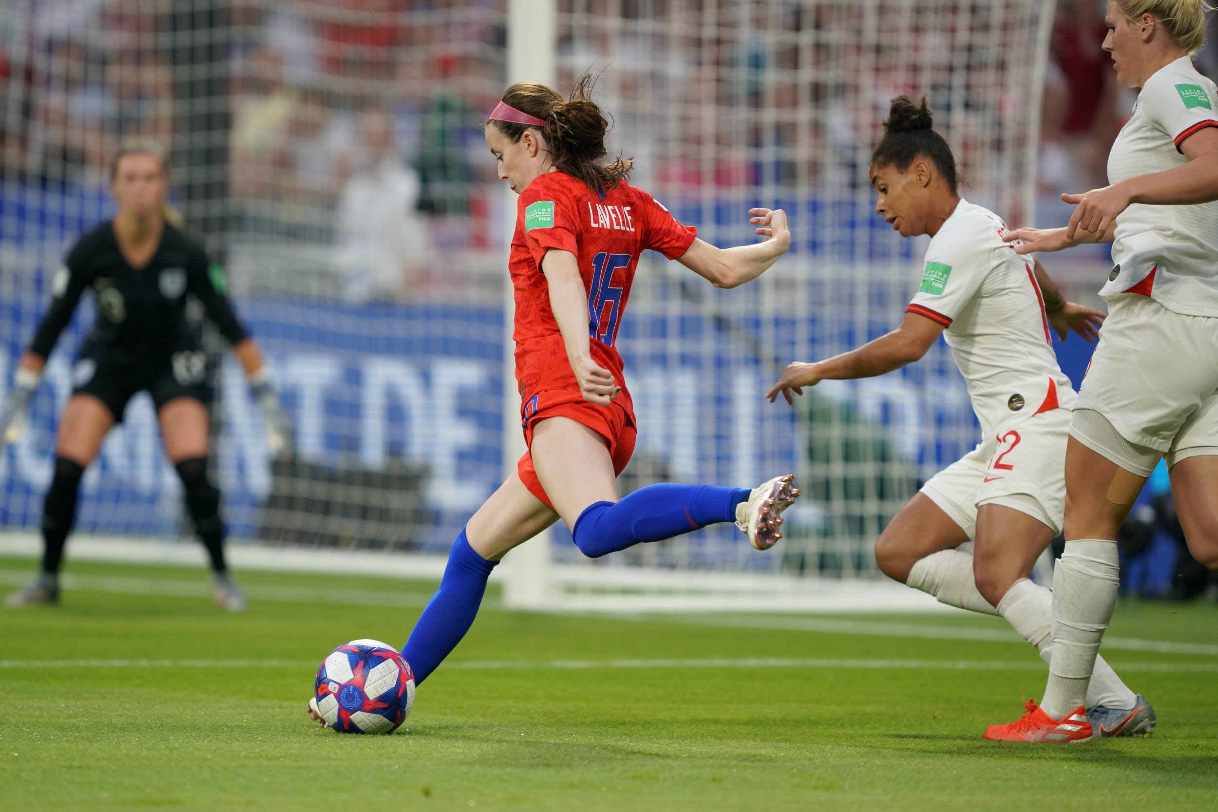 Key members of the 2019 World Cup Champion USWNT began their careers in the WPSL, including Rose Lavelle. (Image courtesy of WashingtonSpirit.com)
