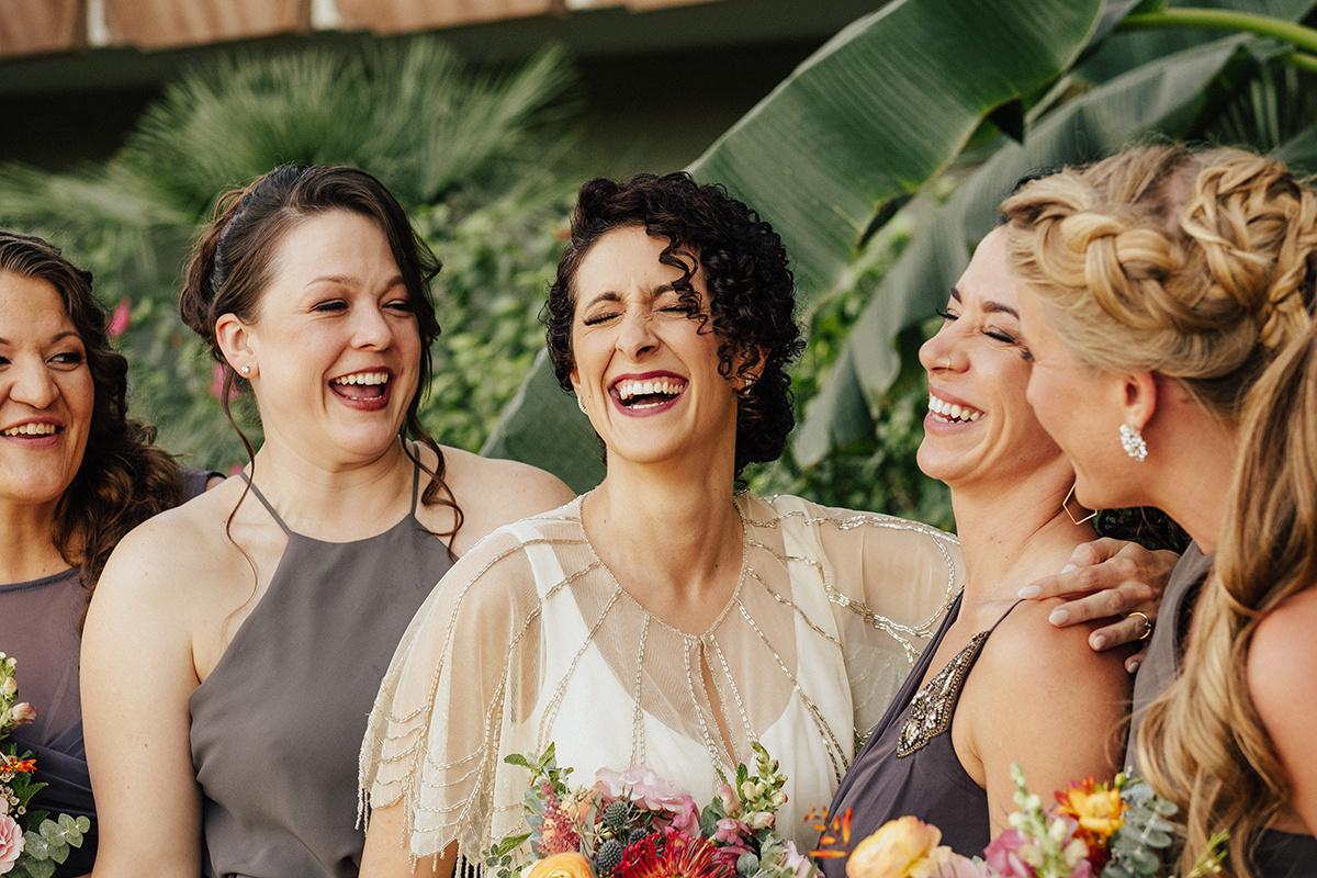 Bright, Mid-Century Modern Tropical Wedding Inspiration