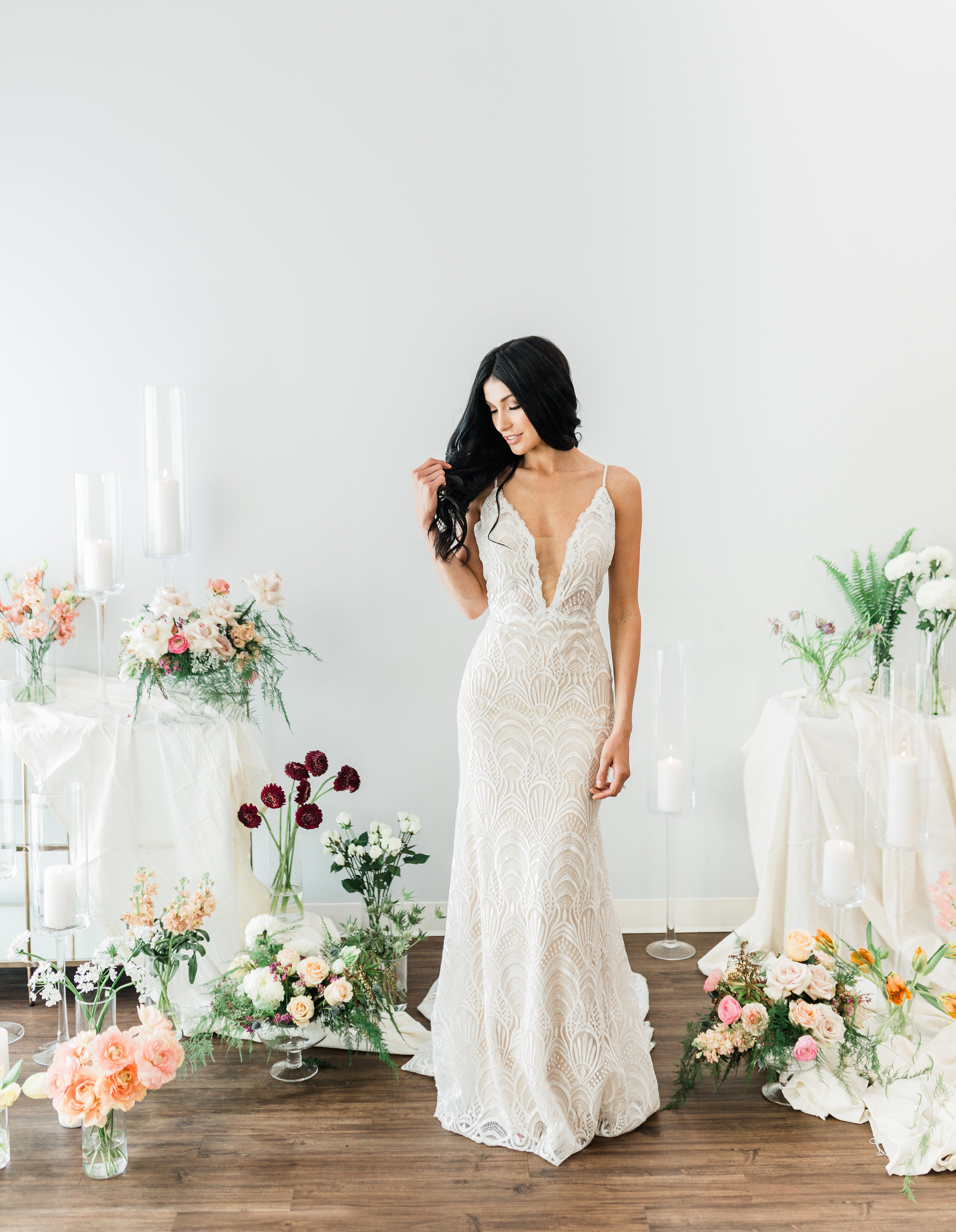 Wedding Dress Shopping - Bella Lily Bridal Inspiration Shoot