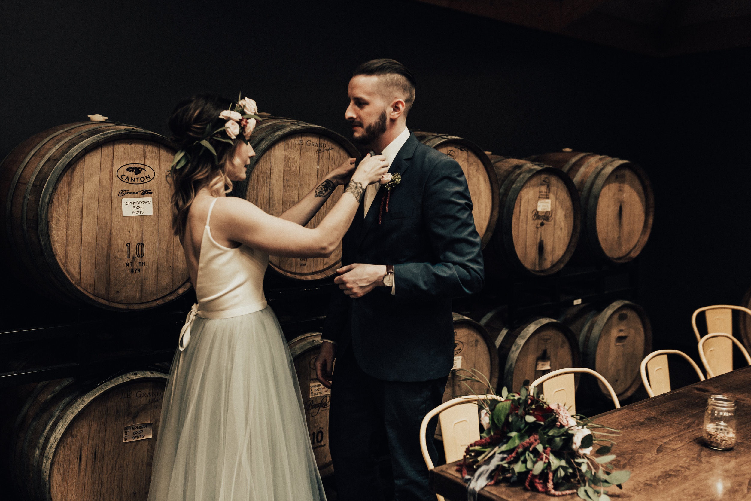 McFate Brewery Wedding