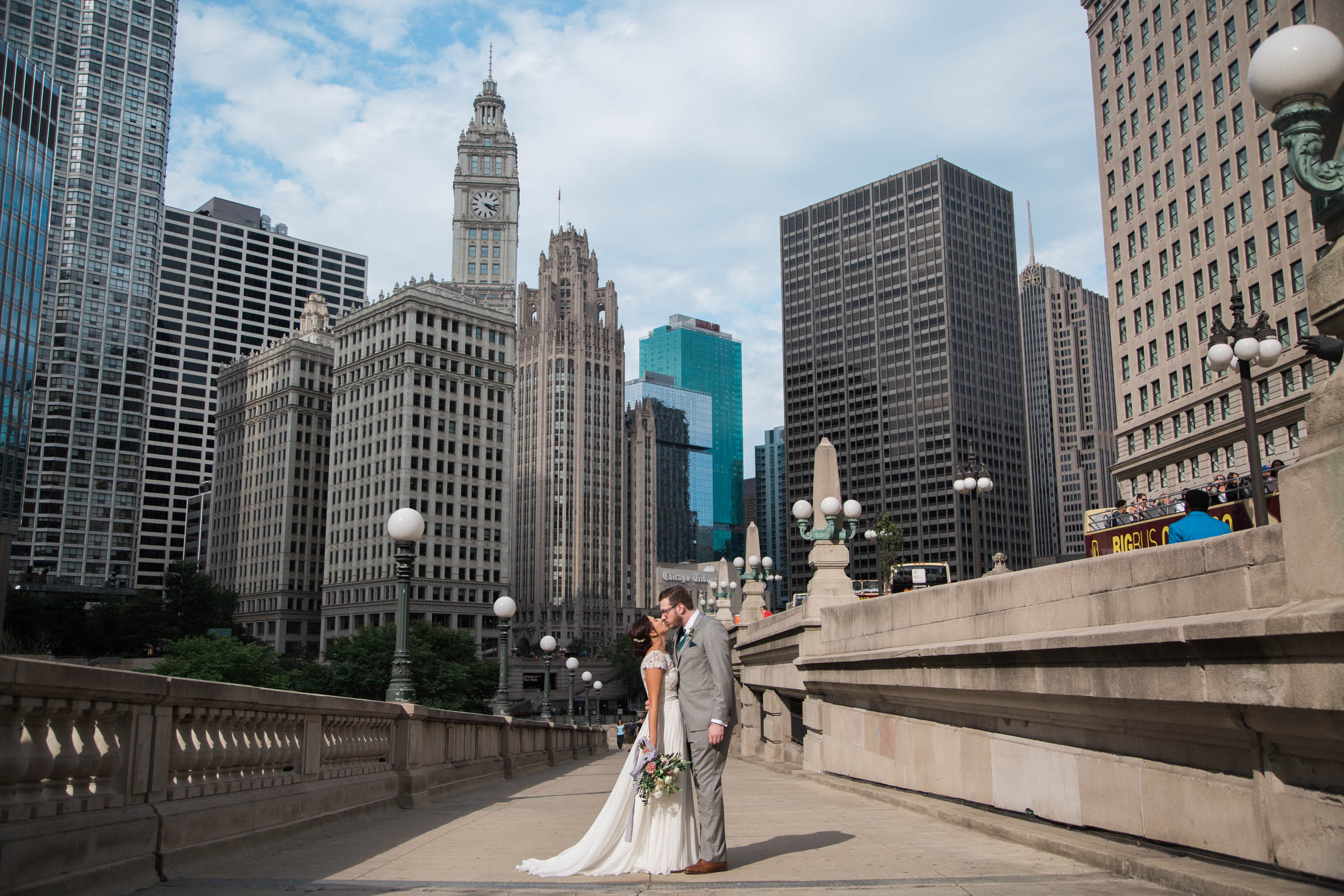 Chicago Wedding - Athletic Association First Look