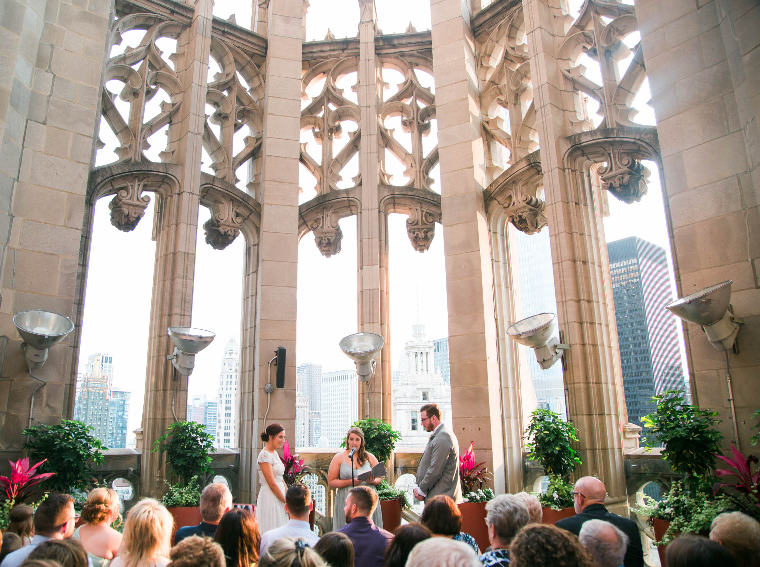 Chicago Wedding at Tribune Tower