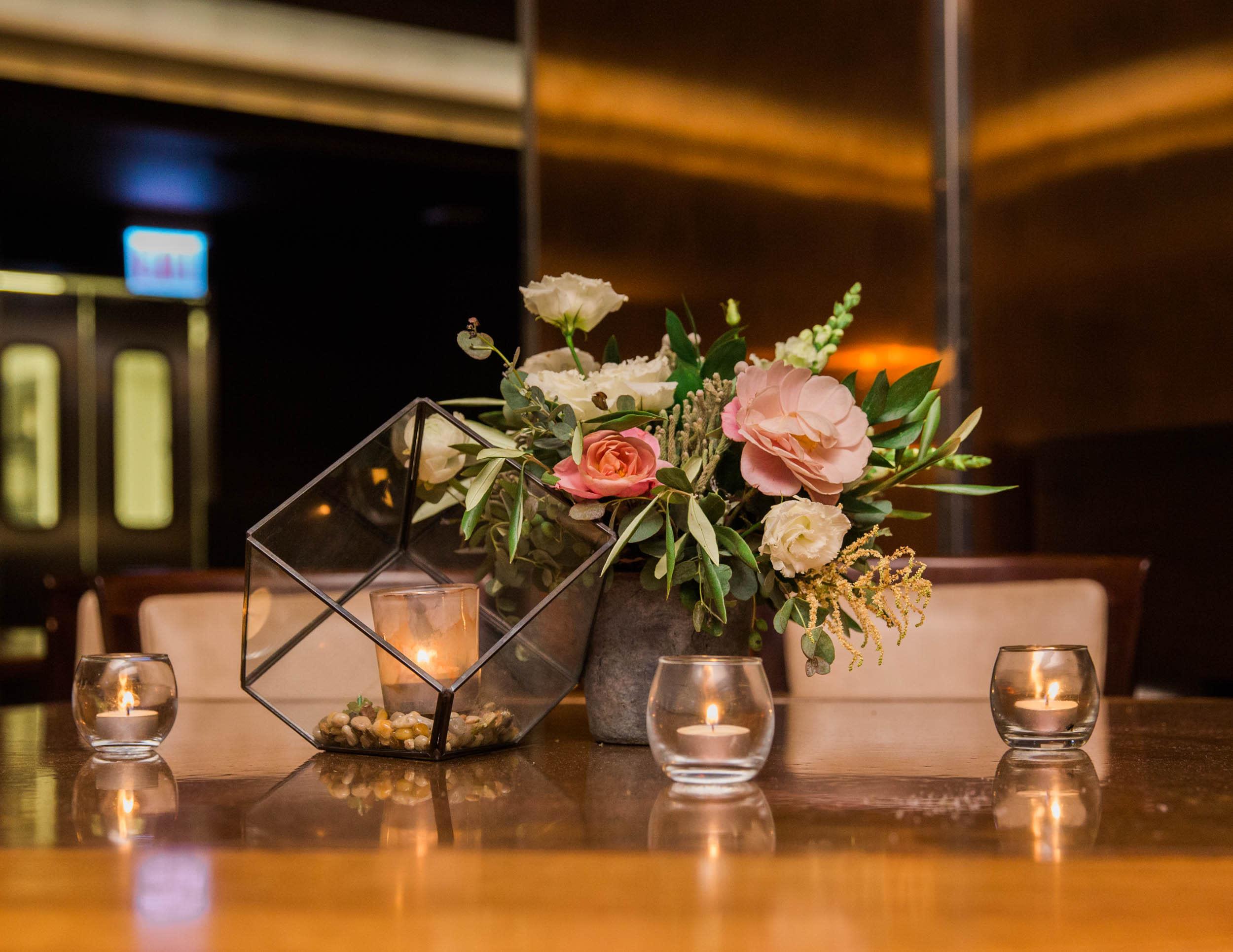 Chicago Wedding - Centerpiece