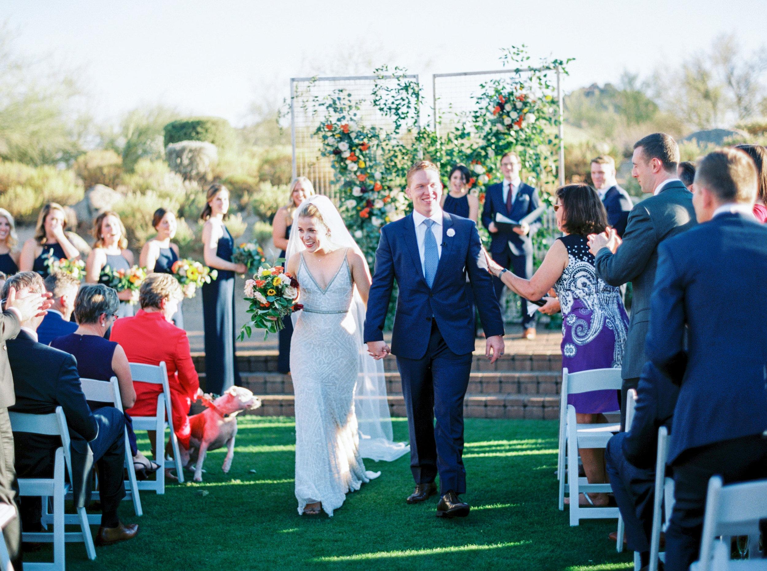 Troon North Desert Wedding