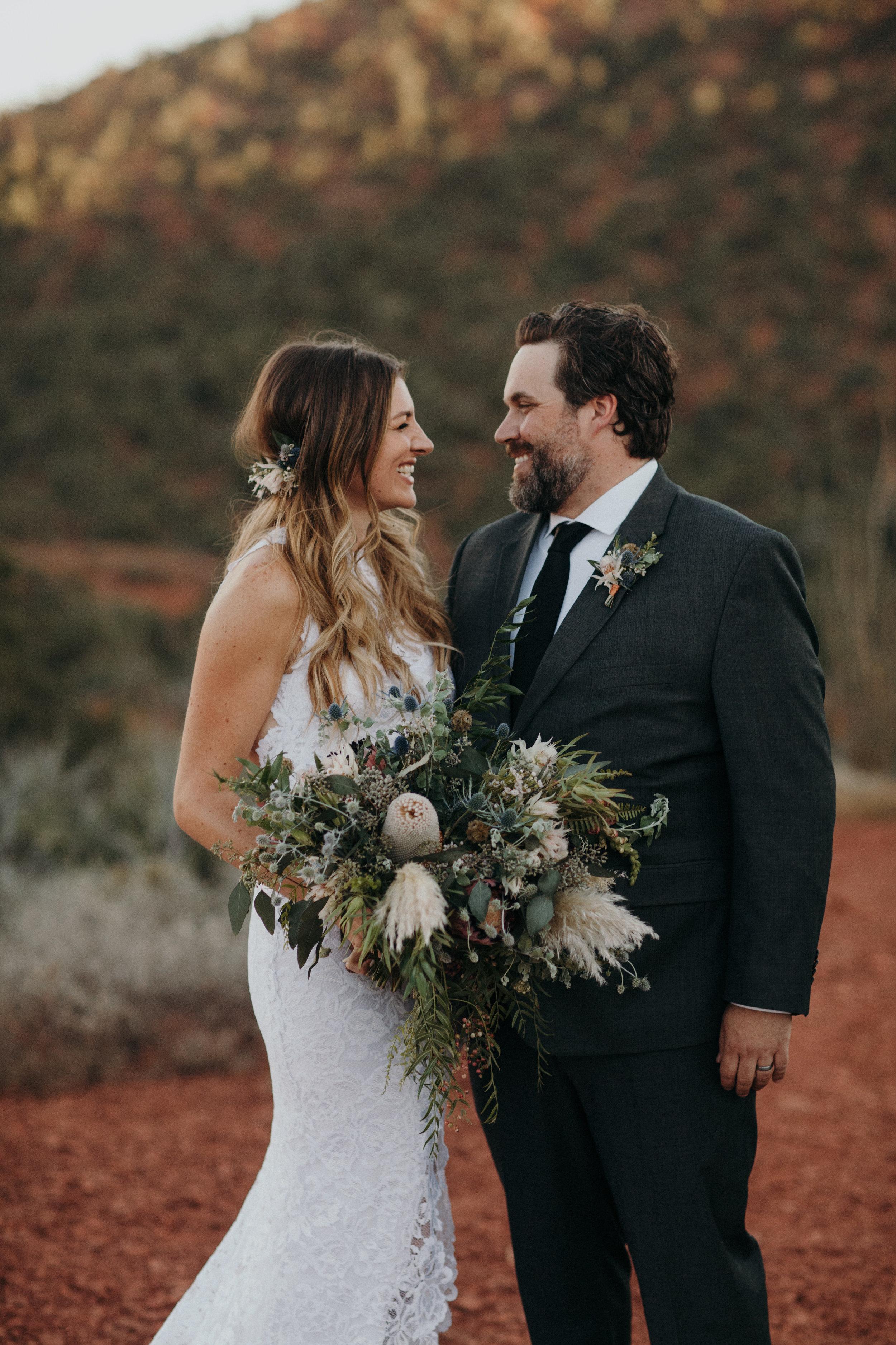 Sedona Wedding - Desert Inspired Bridal Bouquet