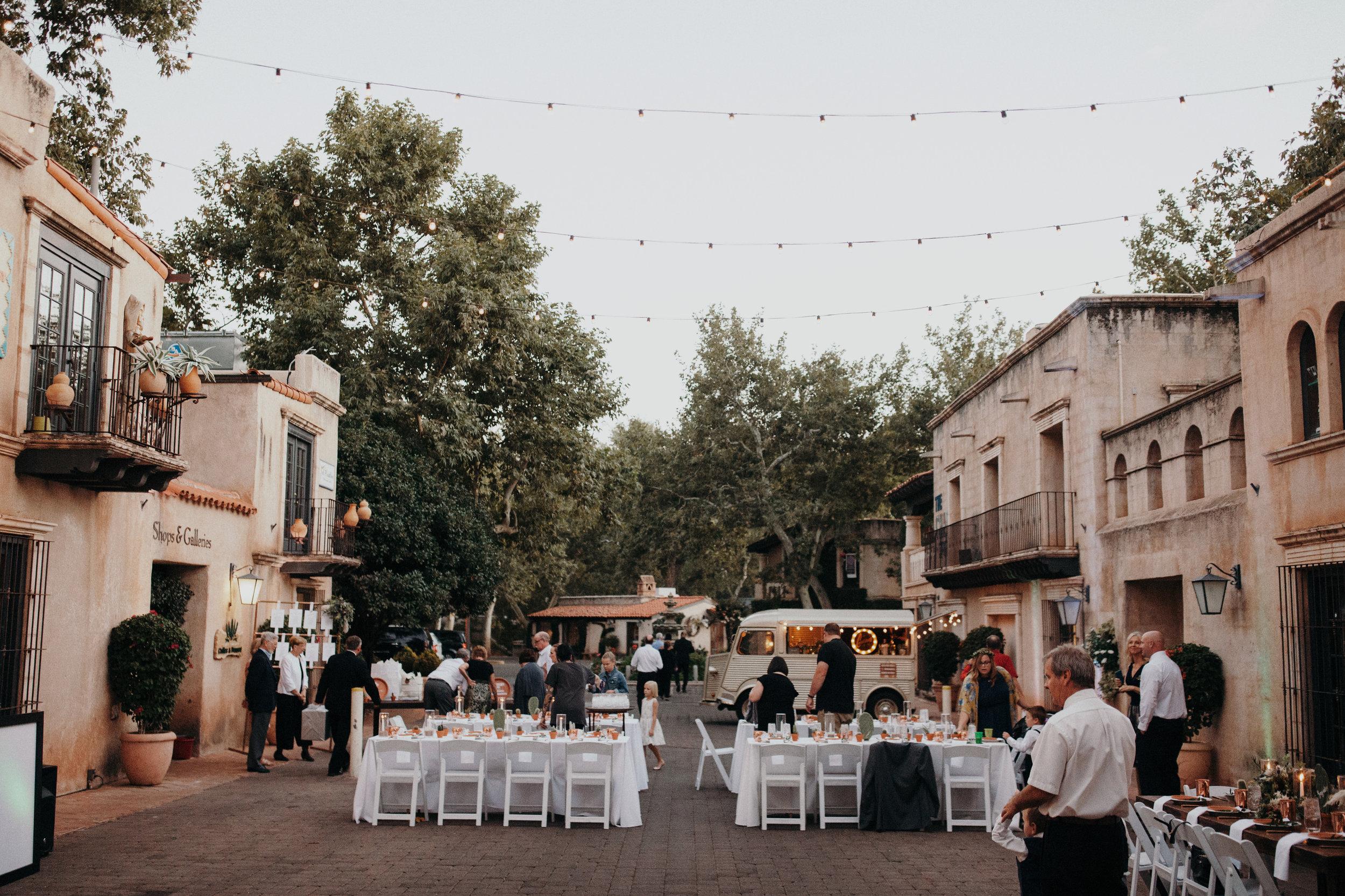 Sedona Wedding - Tlaquepaque Reception
