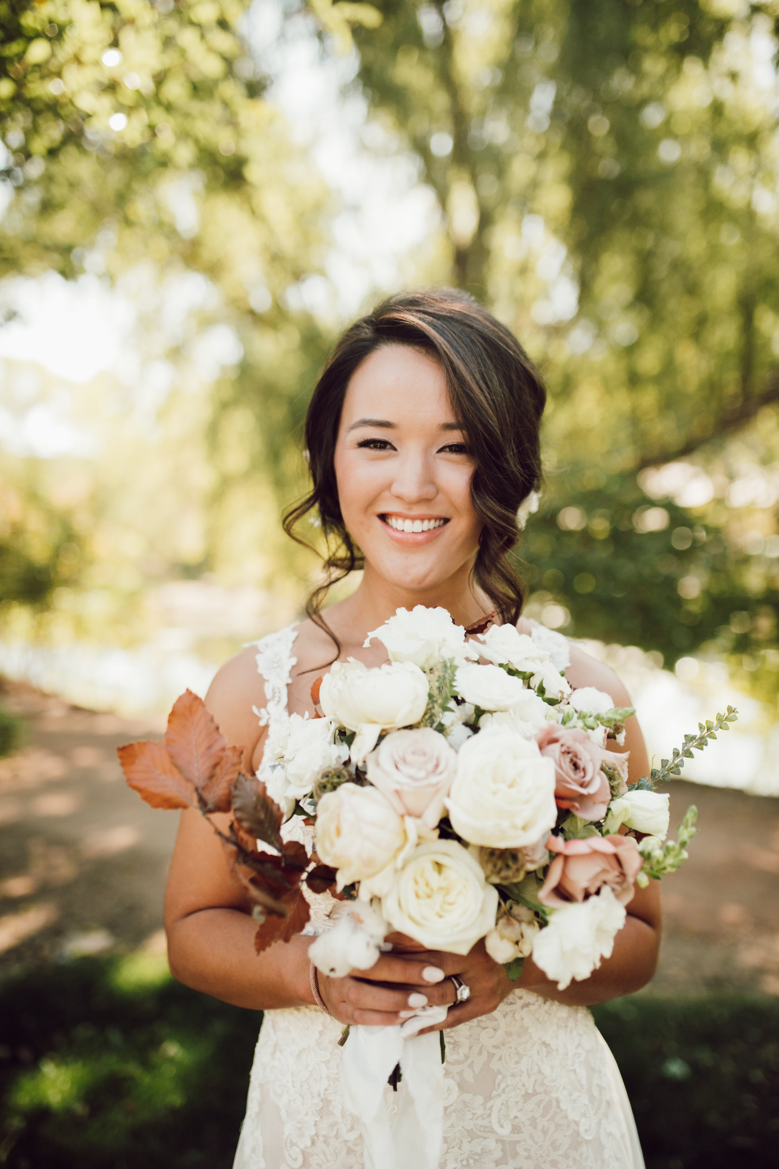 DA Ranch Fall Wedding - Bridal Bouquet