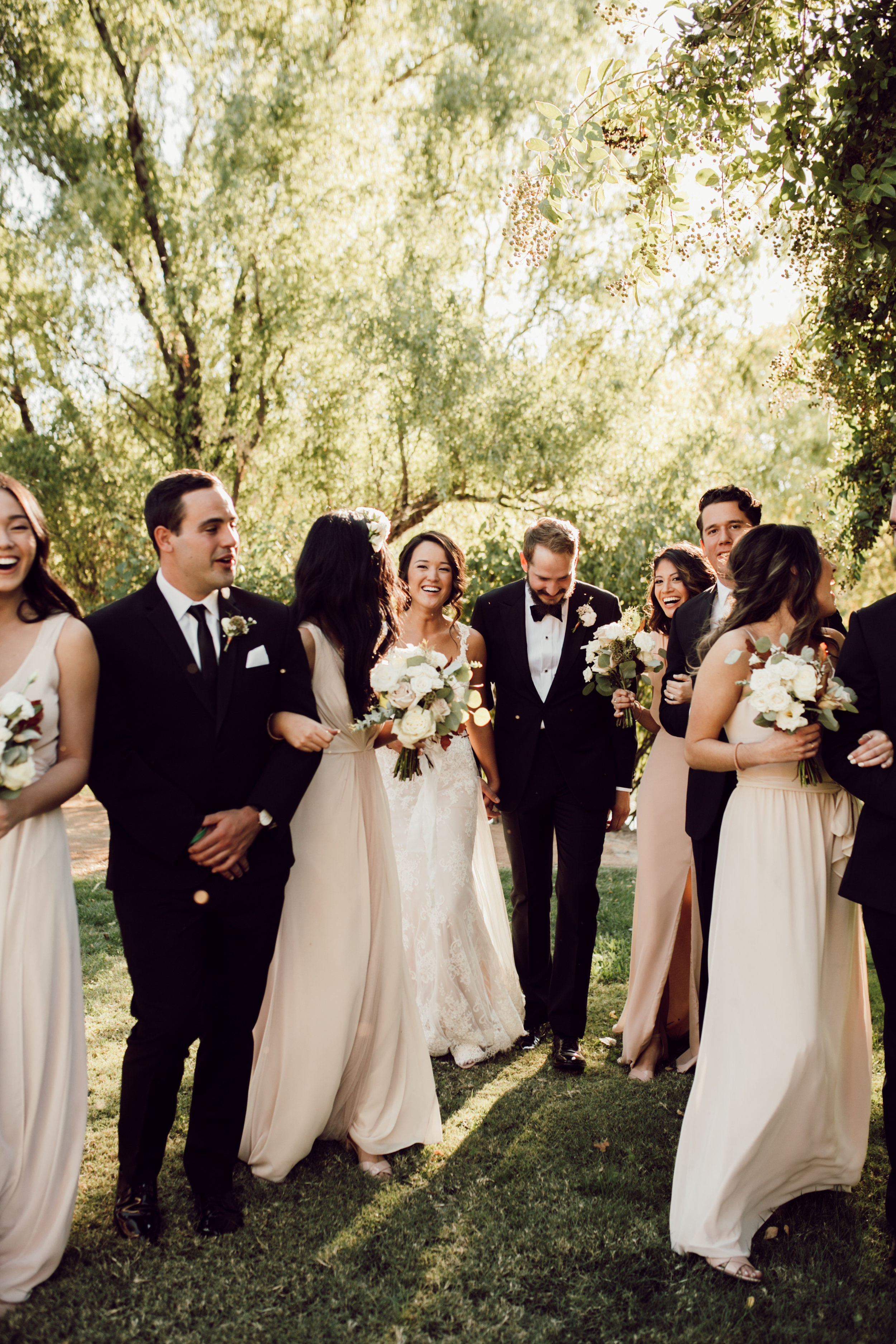 DA Ranch Fall Wedding - Bridal Party