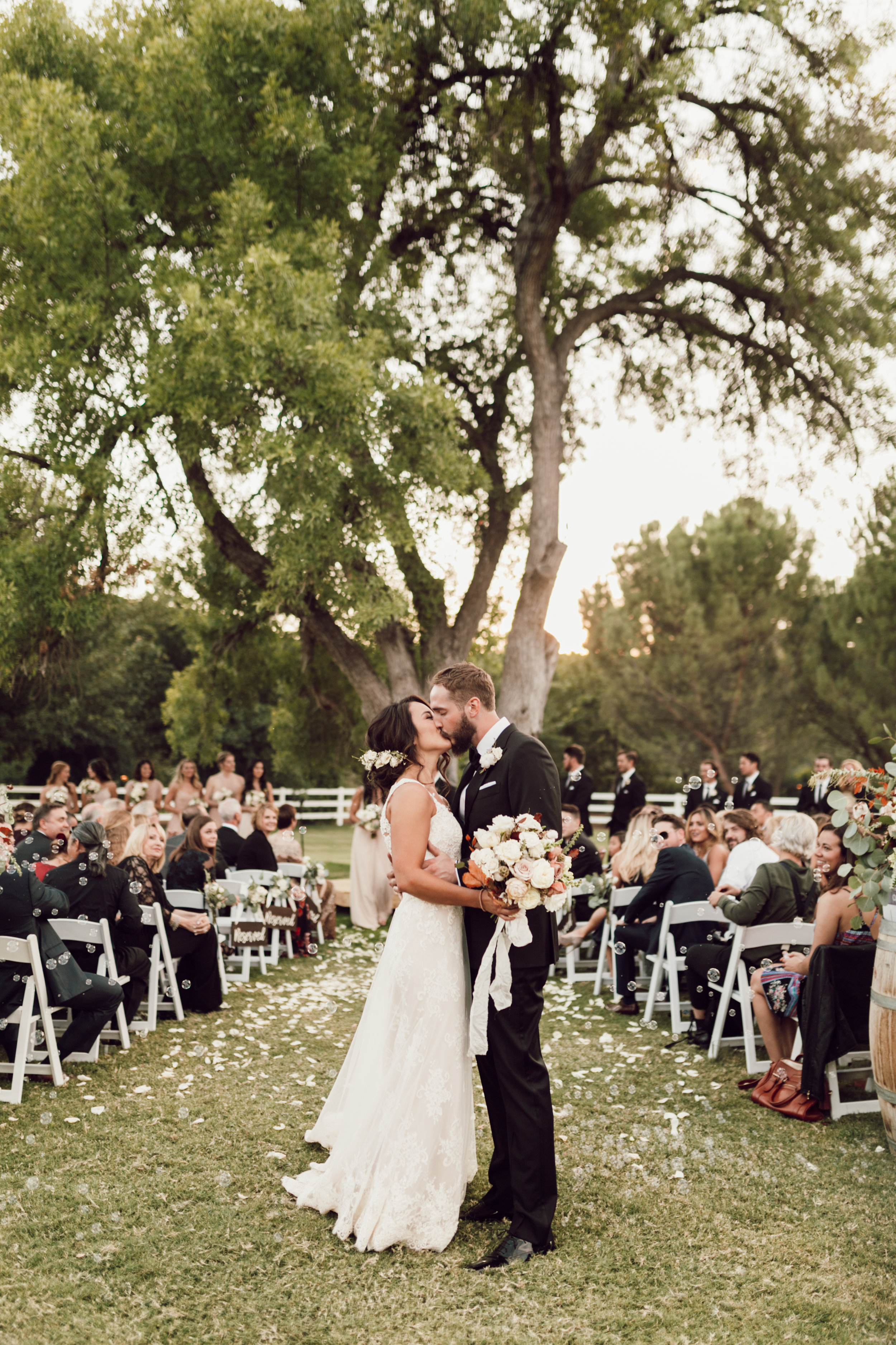 DA Ranch Fall Wedding - Ceremony