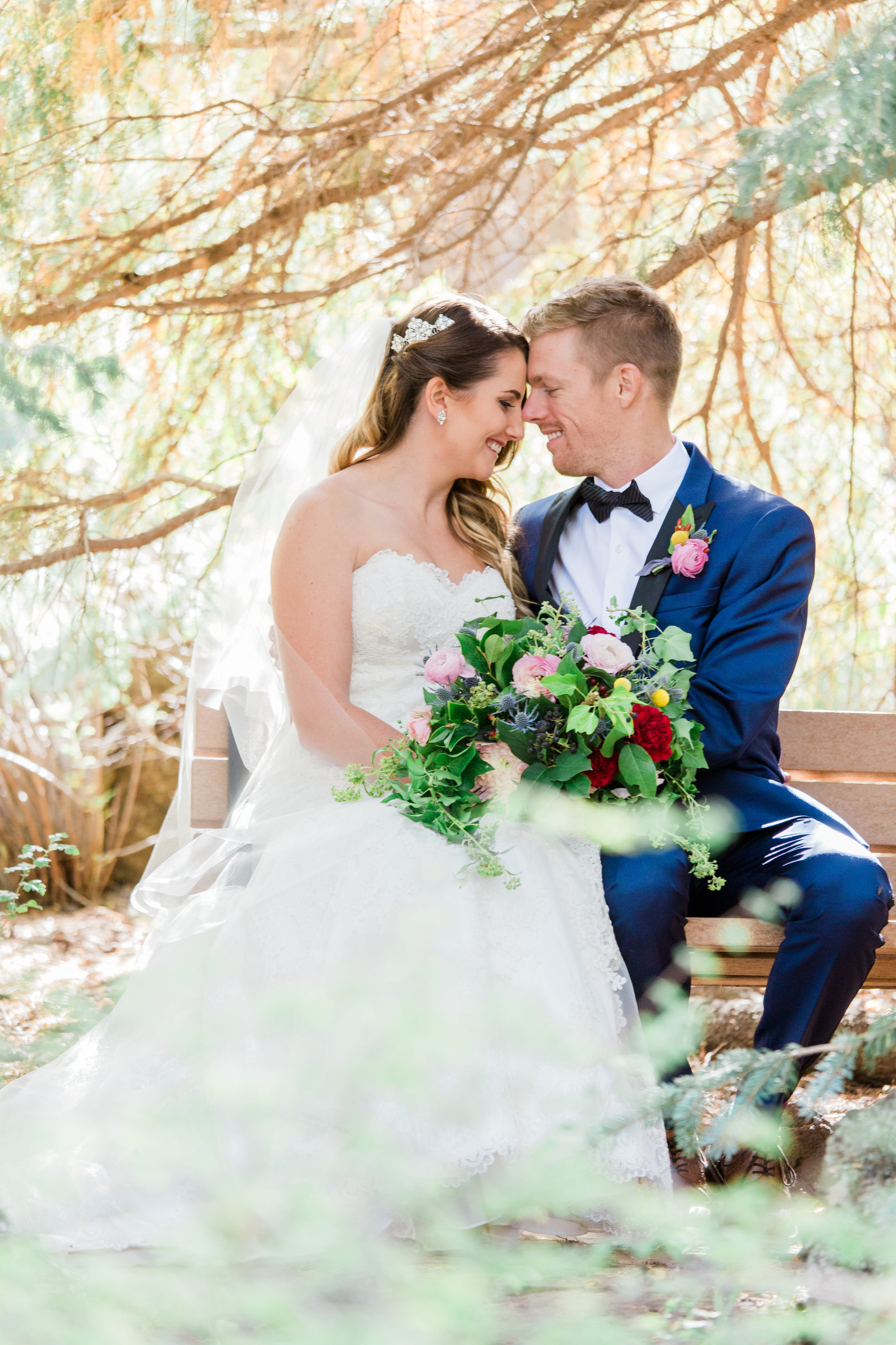 Flagstaff Forest Wedding - Bride and Groom